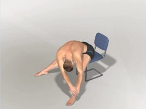 Předklon v sedu doleva Dynamic