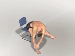 Předklon v sedu doprava Dynamic