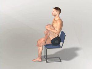 Přitažení levého kolena Dynamic