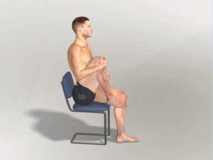 Přitažení pravého kolena Dynamic