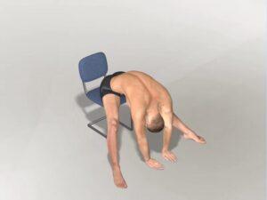 Předklon v sedu doprostřed Dynamic